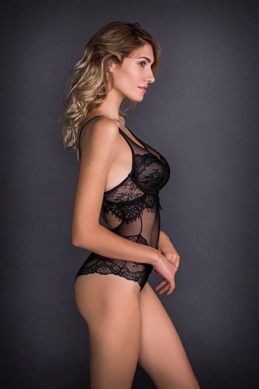 10416 Боді Yvonne Gracija-Rim чорний