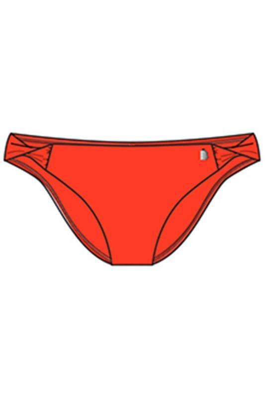 070216-355 Жіночі трусики купальні BeachLife помаранчевий