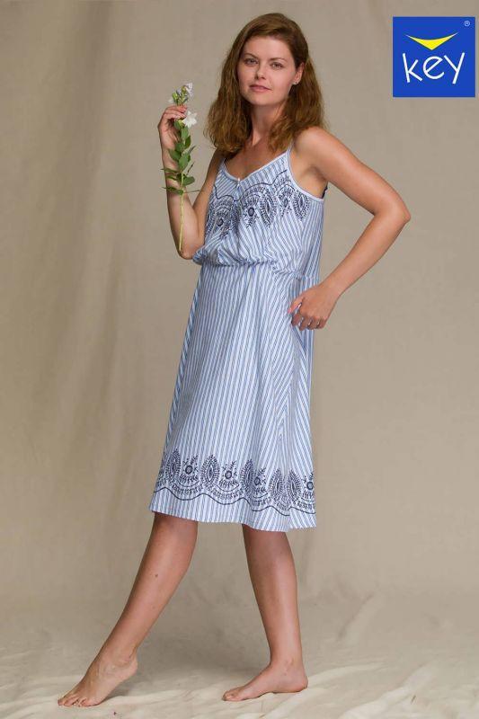 LND 313 A21 Женское платье Key mix принт