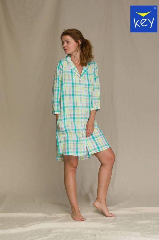 LND 453 A21 Женское платье Key mix принт