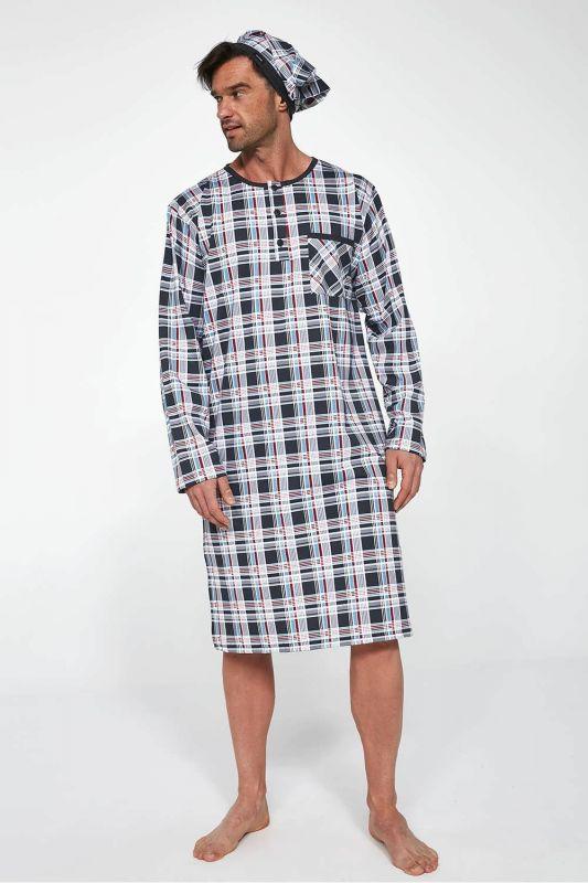 110-21 Мужская ночная рубашка 06 Cornette принт
