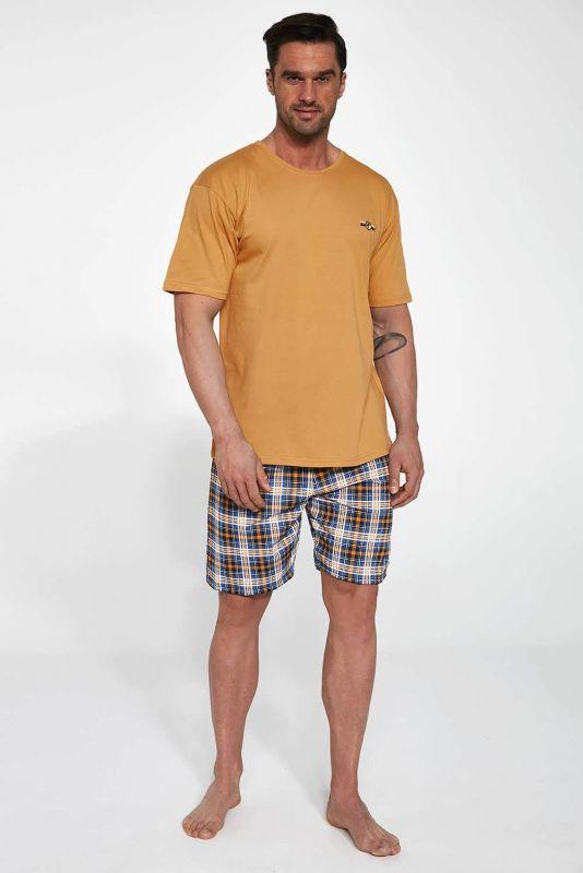 326-21 Мужская пижама 111 Mark Cornette оранжевый-синий