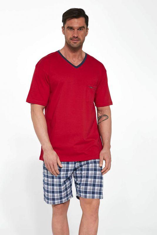 329-21 Мужская пижама 114 Tom Cornette красный-синий