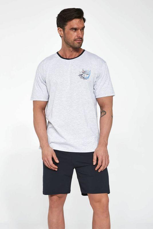471-21 Мужская пижама 110 Sailing cup Cornette меланжевый-графитовый