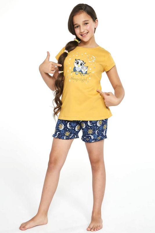 488-21 Пижама для девушек 86 Owls Cornette медовый