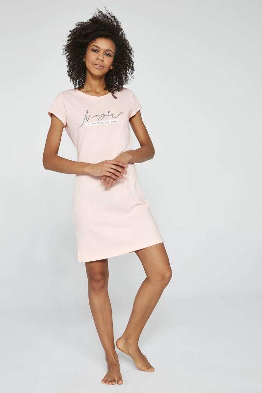 612-21 Женская ночная рубашка 208 Magic 2 Cornette розовый