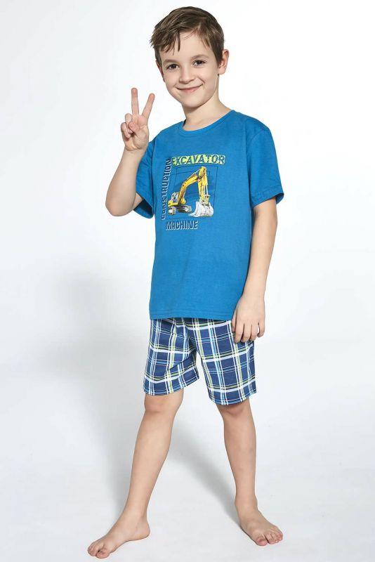 789-21 Пижама для мальчиков 87 Machine 2 Cornette синие