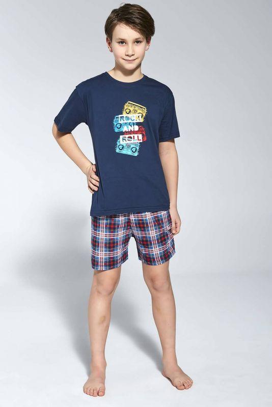 790-21 Пижама для мальчиков подростков 91 ROCK Cornette синий