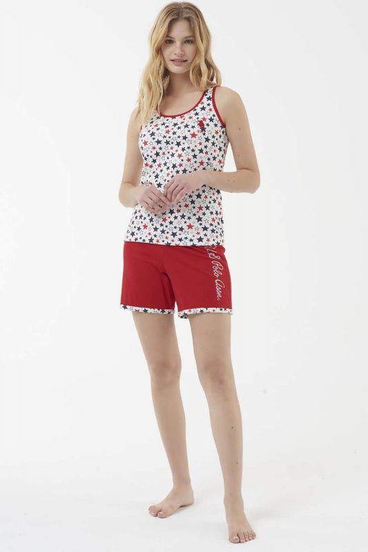 16539 Пижама женская U.S. Polo ASSN красный