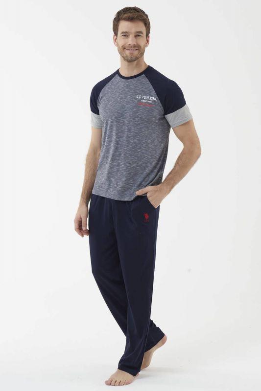 18434 Мужская пижама U.S. Polo ASSN темно-синий