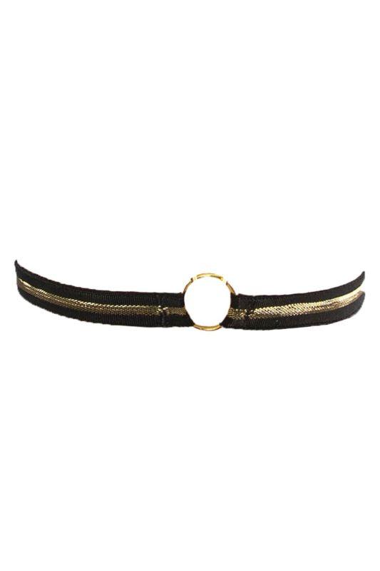 Подвязка V.I.P.A. 5832 черно-золотая
