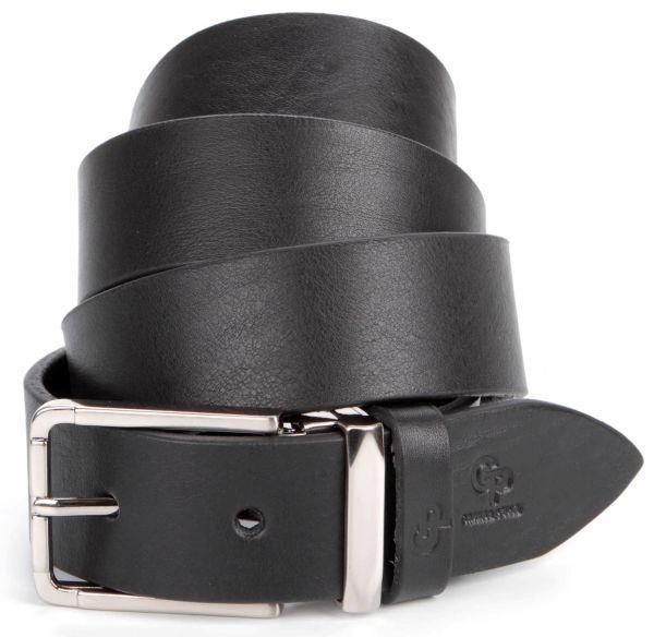 Шикарный мужской кожаный ремень под штаны GRANDE PELLE 00862