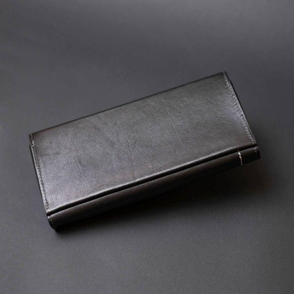 Барсетка элитная кожаная GRANDE PELLE 11277 Черная