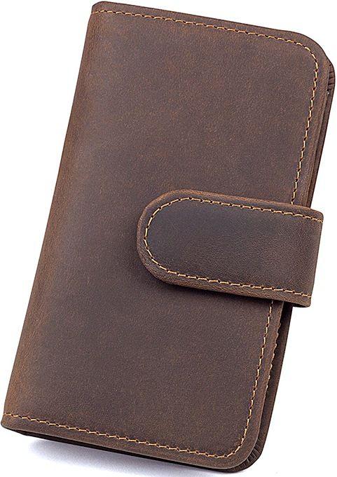 Кредитница Vintage 14483 винтажный стиль коричневая