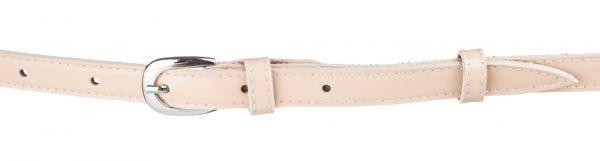 Пояс кожаный MAYBIK 15240 пудровый