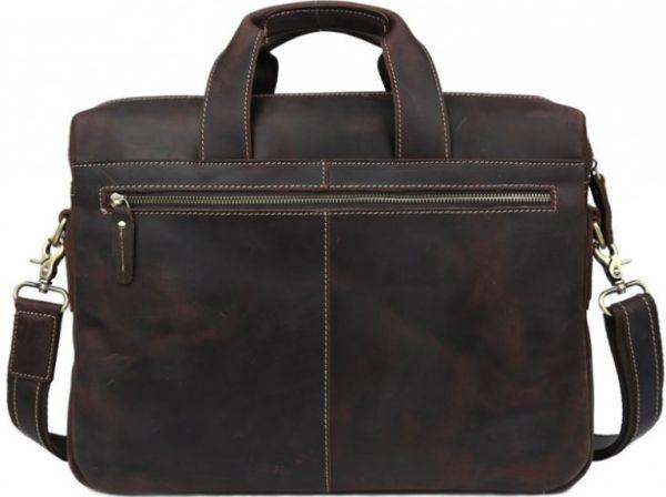 Сумка Vintage 14567 из винтажной кожи коричневая