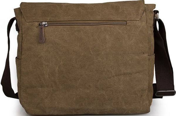 Сумка мужская Vintage 14588 коричневая