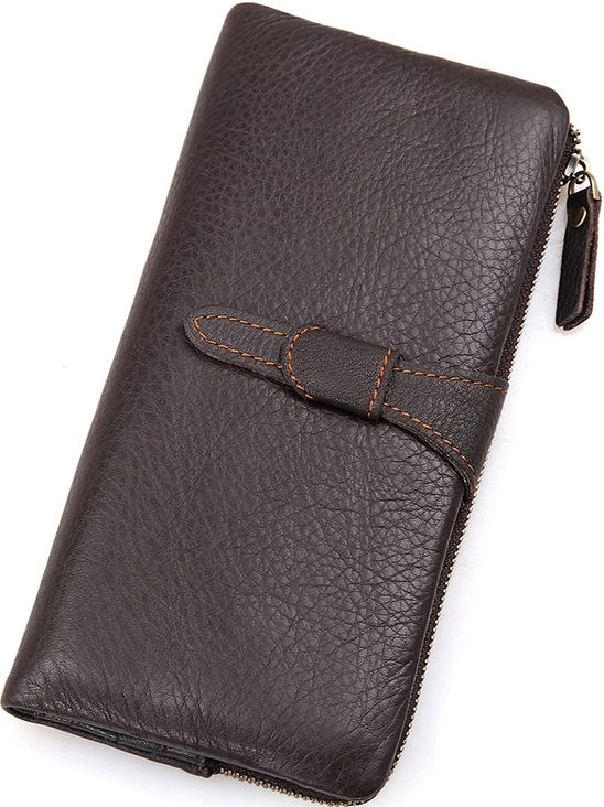 Кошелек женский Vintage 14599 кожаный коричневый