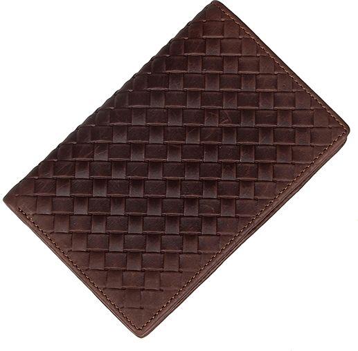 Портмоне Vintage 14601 кожаное коричневое