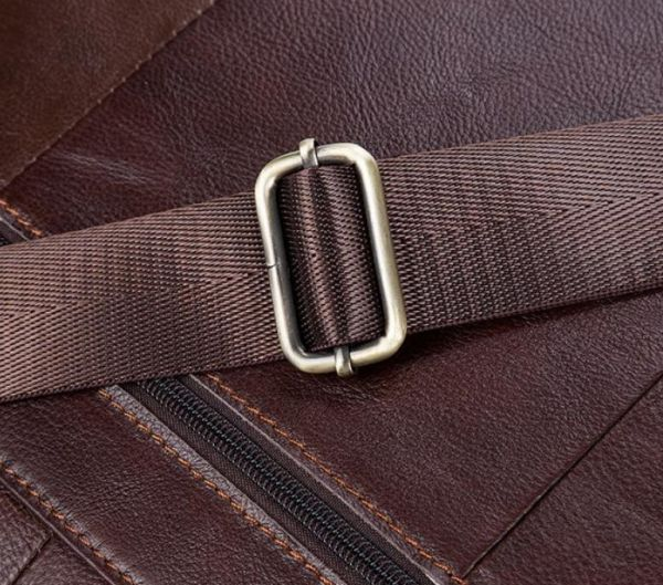 Сумка вместительная Vintage 14641 кожаная коричневая