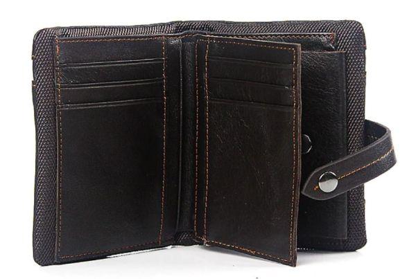 Кошелек унисекс Vintage 14686 коричневый