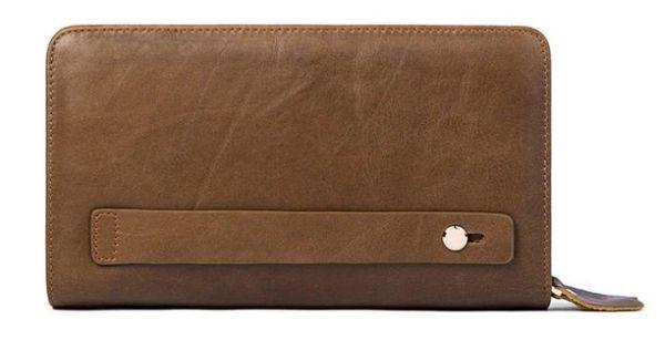 Клатч-барсетка мужской Vintage 14722 светло-коричневый