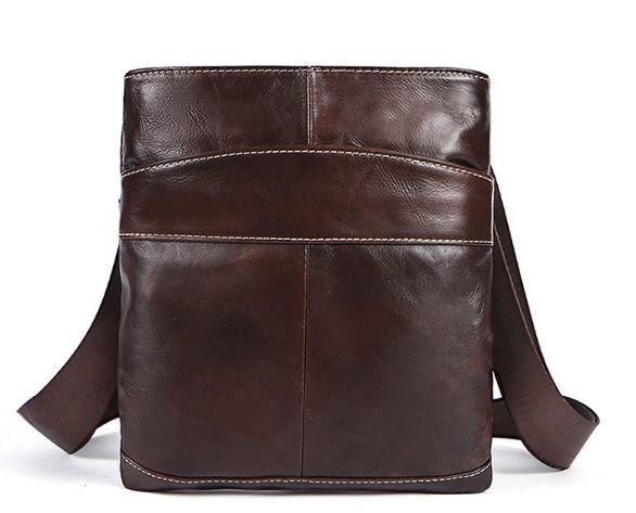 Мессенджер мужской Vintage 14730 коричневый