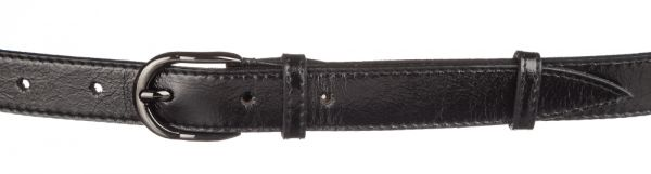 Ремень кожаный MAYBIK 15232 черный