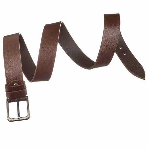 Ремень джинсовый MAYBIK 15246 коричневый