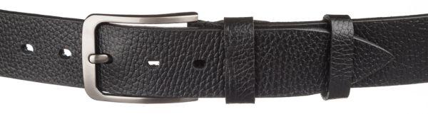 Мужской кожаный ремень MAYBIK 15247 черный