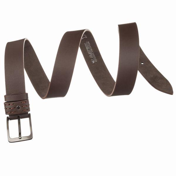 Ремень джинсовый MAYBIK 15250 коричневый