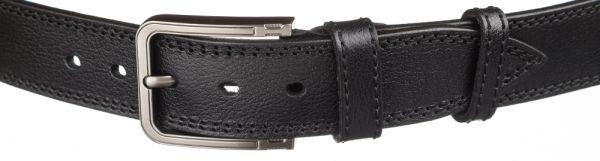 Мужской кожаный ремень MAYBIK 15251 черный