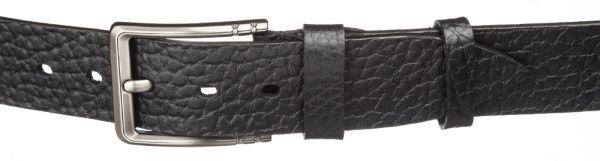 Мужской кожаный ремень MAYBIK 15252 черный