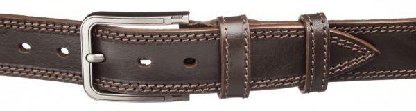 Ремень джинсовый MAYBIK 15256 коричневый