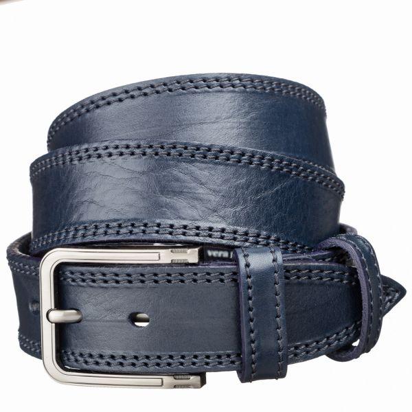 Ремень джинсовый MAYBIK 15257 синий