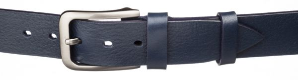 Ремень кожаный MAYBIK 15258 синий