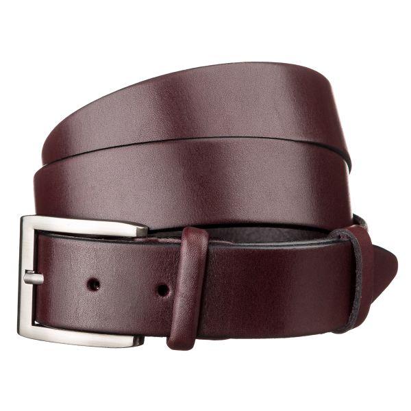 Ремень мужской SHVIGEL 15267 кожаный коричневый