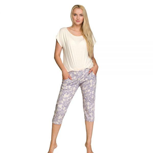 Пижама женская Key LNS 947 2 A21 mix принт