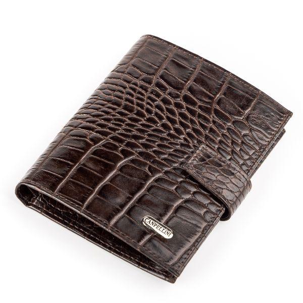 Кошелек мужской CANPELLINI 17040 кожаный коричневый