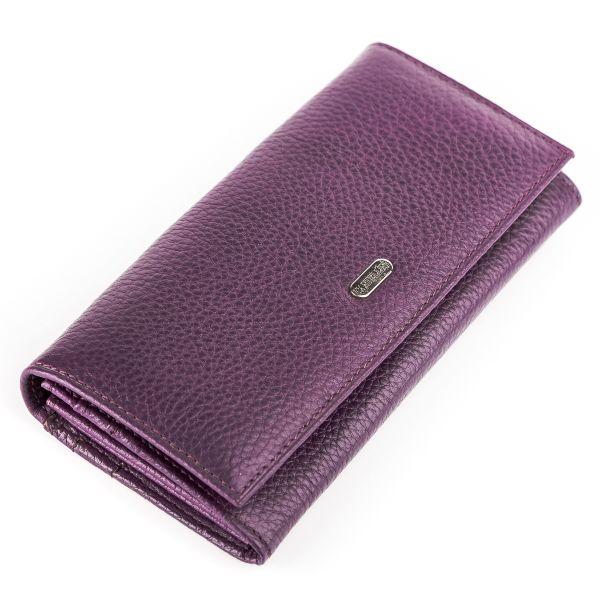 Кошелек женский CANPELLINI 17050 кожаный фиолетовый
