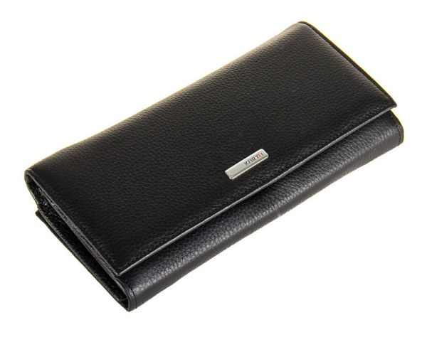 Кошелек женский KARYA 17155 кожаный черный