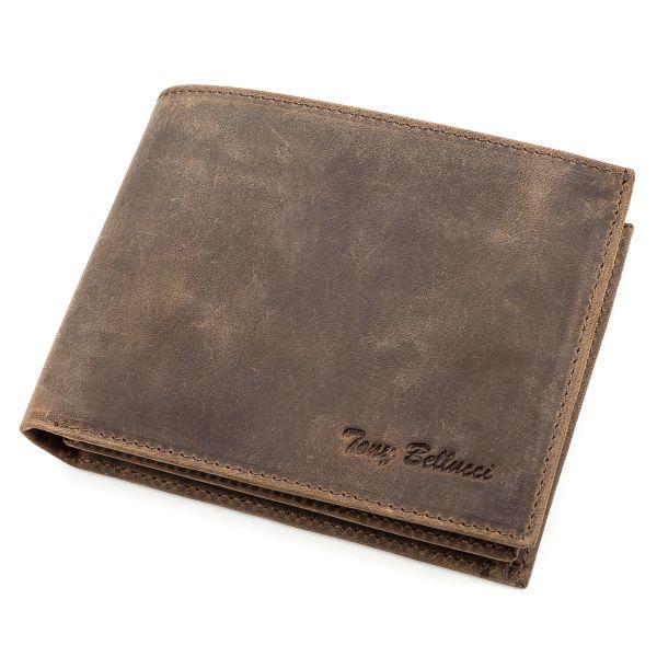 Кошелек мужской Tony Bellucci 17203 кожаный коричневый