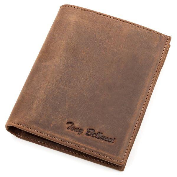 Кошелек Tony Bellucci 17206 кожаный коричневый