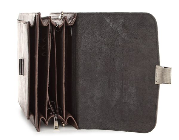 Барсетка SHVIGEL 00753 коричневая