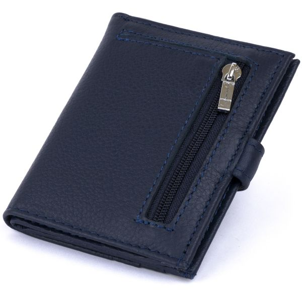 Гаманець-візитниця ST Leather 19210 темно-синій