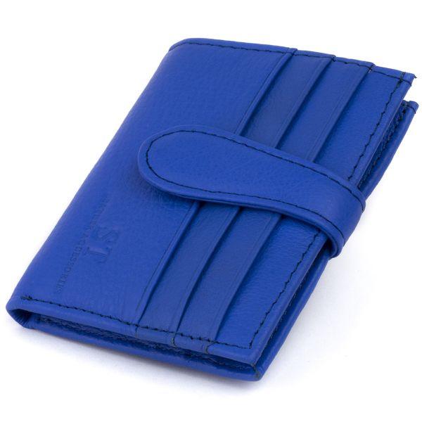 Гаманець-візитниця ST Leather 19212 синій