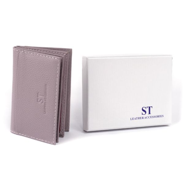 Візитниця-книга ST Leather 19216 лиловая