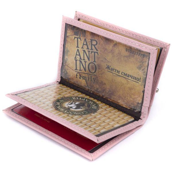 Визитница-книжка ST Leather 19220 Розовая