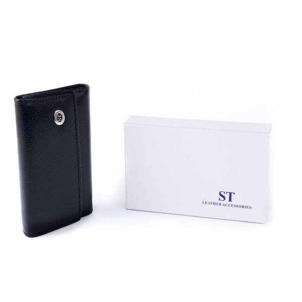 Ключниця-гаманець жіноча ST Leather 19221 чорна