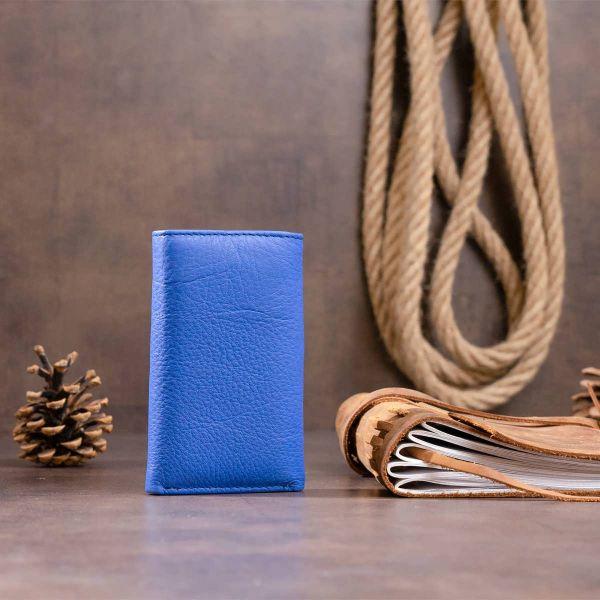 Ключница-кошелек унисекс ST Leather 19225 синяя
